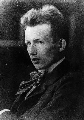 Een jonge Hans Blüher